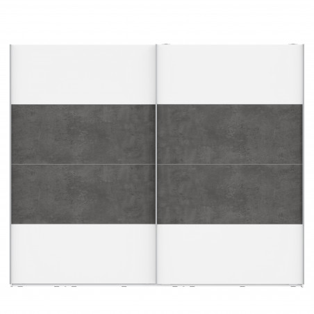 Dulap 2 Usi Culisante Olivier, 270,1 x 62 x 223 cm-01