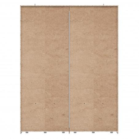 Dulap 2 Usi Culisante + Oglinda Olivier, 170,3 x 62 x 223 cm-01