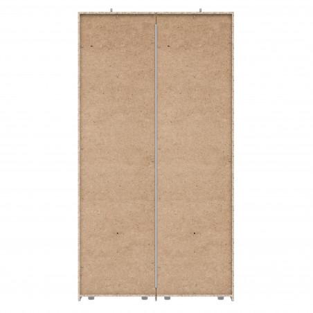 Dulap 2 Usi + 2 Oglinzi Olivier, 120,1 x 62 x 223 cm-01