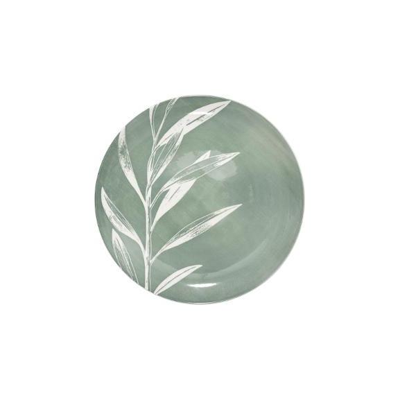 Farfurie Greeny, Verde, 26 cm