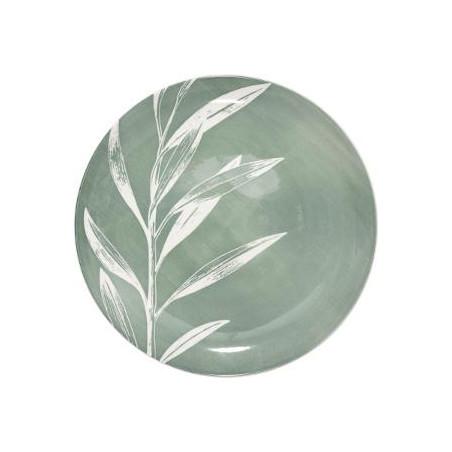 Farfurie Greeny, Verde, 26 cm-01
