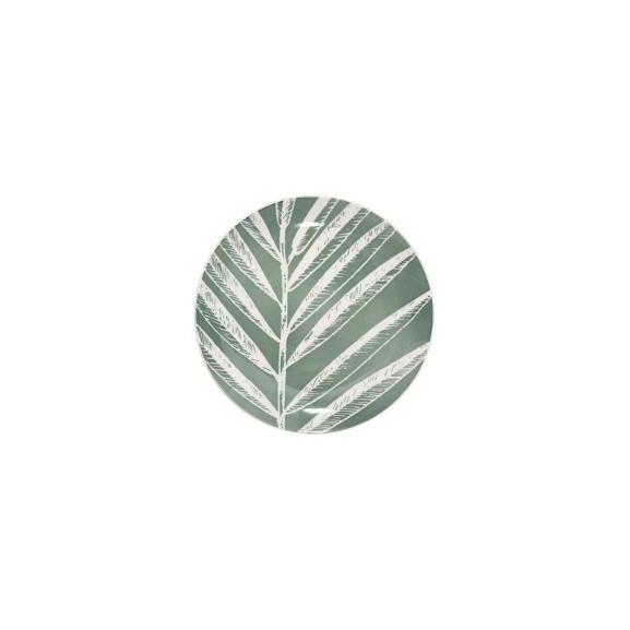 Farfurie Desert Greeny, Verde, 19 cm