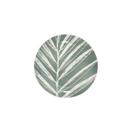 Farfurie Desert Greeny, Verde, 19 cm-01