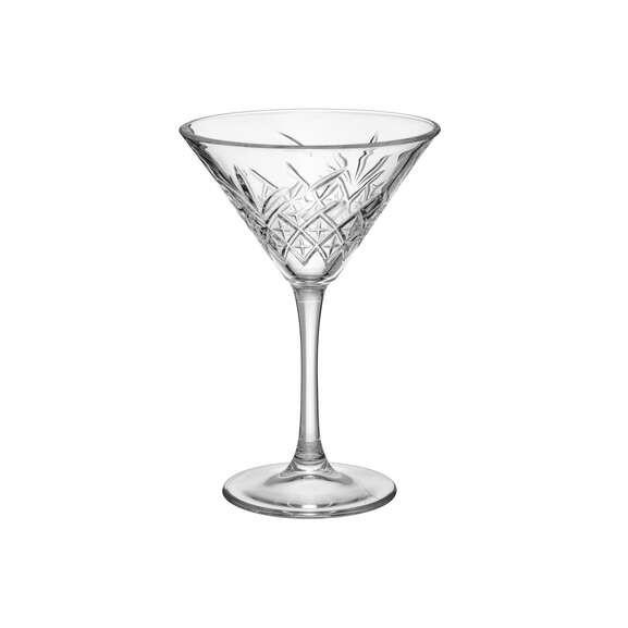Set 4 pahare Martini Timless, 23 cl