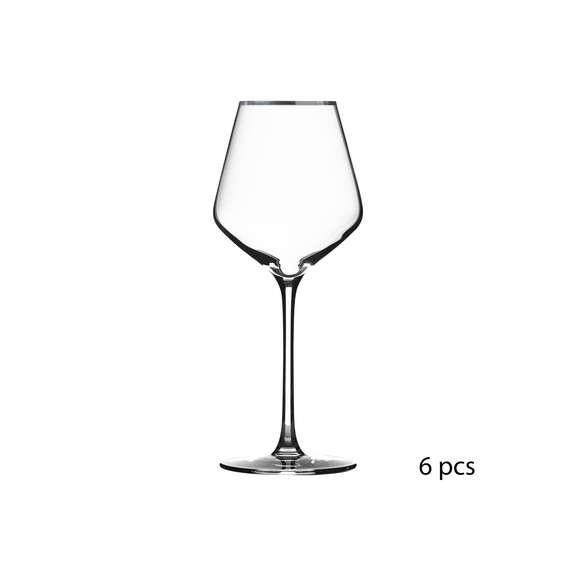 Set 6 pahare de vin Milla, 38 cl