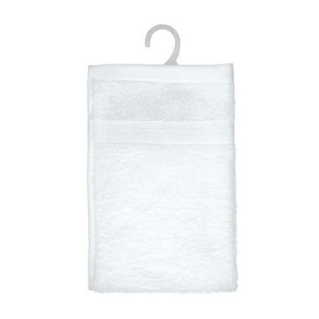 Prosop de baie, Alb, 30 x 50 cm-01
