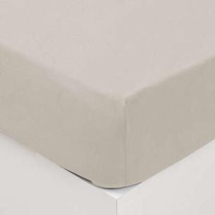 Cearsaf elastic, Ivory, 160 x 200 cm