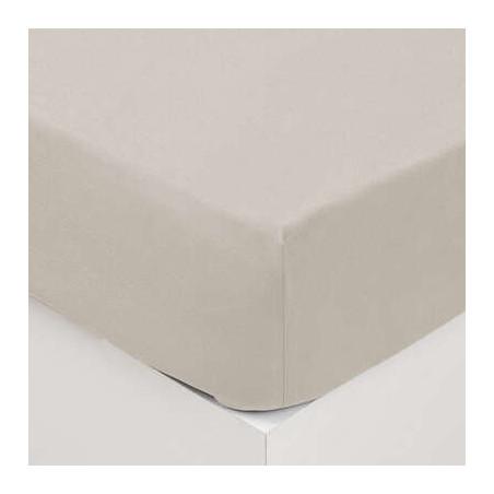 Cearsaf elastic, Ivory, 160 x 200 cm-01
