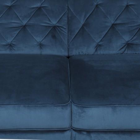 Canapea Retro, Dreapta, Albastru, 2560 x 1150 mm.-01
