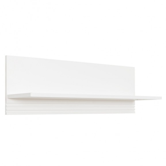 Polita Verona Bianco, Alb, 900 x 250 x 300 mm. naturlich.ro