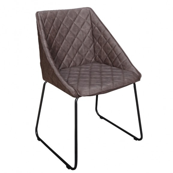 Scaun living Bari, Brown