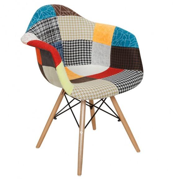 Scaun Rouen, Multicolor, 605 x 640 x...