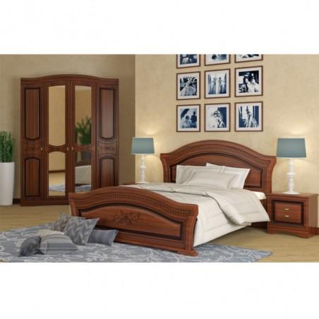 Dormitor Venera Nuc, Pat 1600 mm.-01