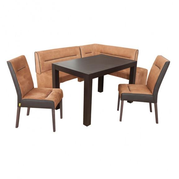 Set masa Ada cu coltar dr + 2 scaune...
