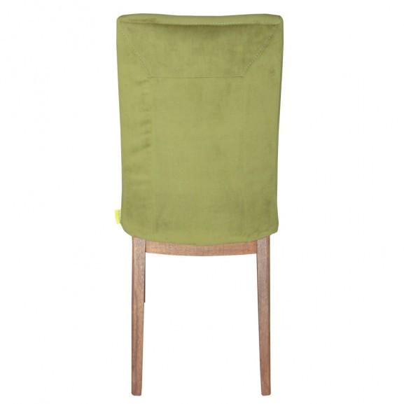 Scaun Malene, Verde, 480 x 660 x 1020 mm. naturlich.ro