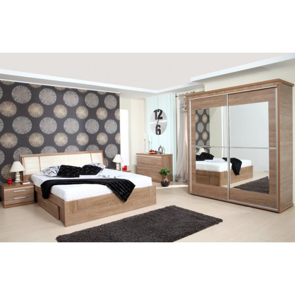 Dormitor Pallas Nuc, Pat 1600 mm.