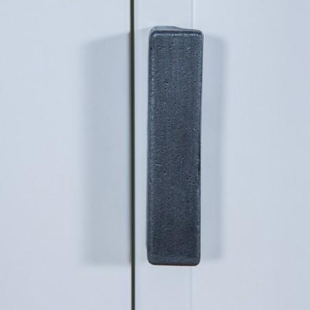 Bufet 3U 3S Milano 1820X500X900 Alb+Taupe-01