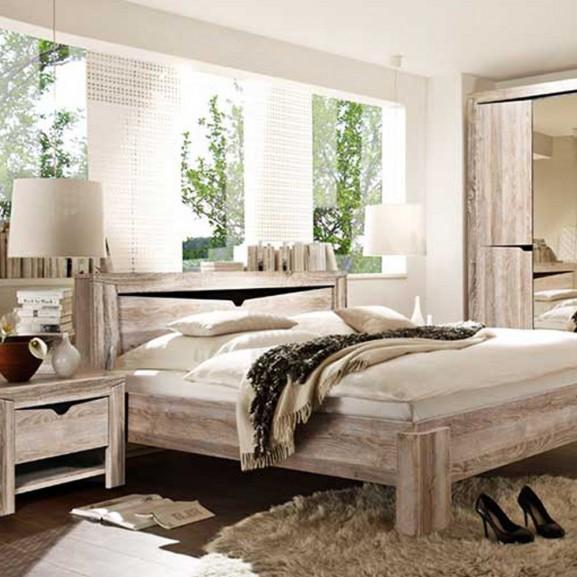 Dormitor Garda Stejar, Pat 1600 mm.