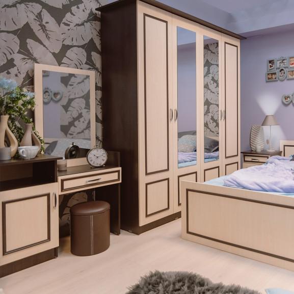 Dormitor Kim, Pat 1600 mm.