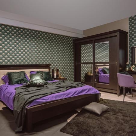 Dormitor Saigon, Charcoal, Pat 1600 mm.-01
