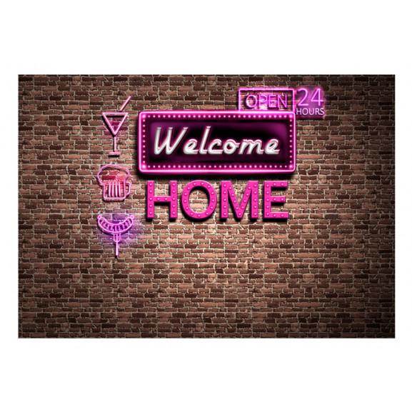 Fototapet Welcome Home 100 cm x 70 cm naturlich.ro