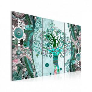 Tablou Emerald Tree 120 cm...