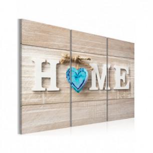 Tablou Home: Blue Love 120...