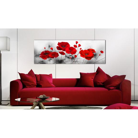 Tablou Grey Garden 120 cm x 40 cm naturlich.ro
