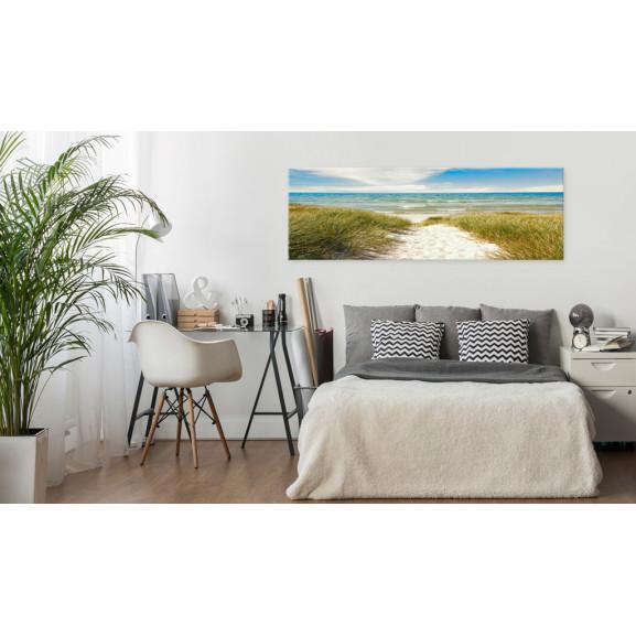 Tablou Solace Of The Sea 120 cm x 40 cm naturlich.ro