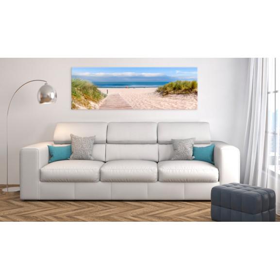 Tablou Seaside Dream 135 cm x 45 cm naturlich.ro