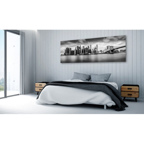 Tablou New York: Stylish City 135 cm x 45 cm naturlich.ro