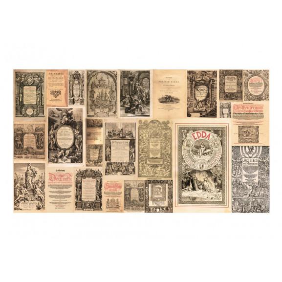 Fototapet Xxl Vintage Books 500 cm x 280 cm naturlich.ro