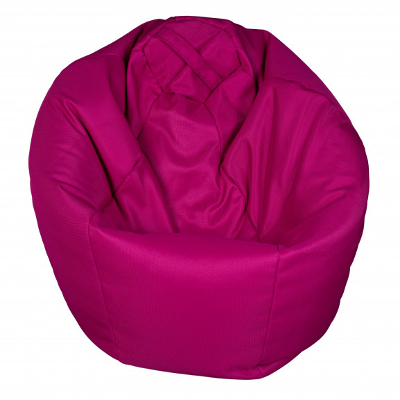 Fotoliu Bean Bag, Interior-Exterior, Tip Para Mica Roz naturlich.ro
