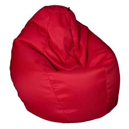 Fotoliu Bean Bag, Interior-Exterior, Tip Para Mijlocie Rosu-01