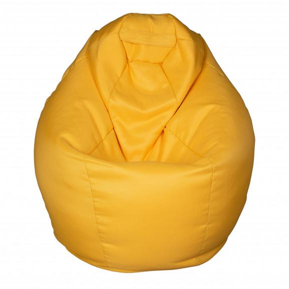 Fotoliu Bean Bag, Interior-Exterior, Tip Para Mijlocie Galben naturlich.ro