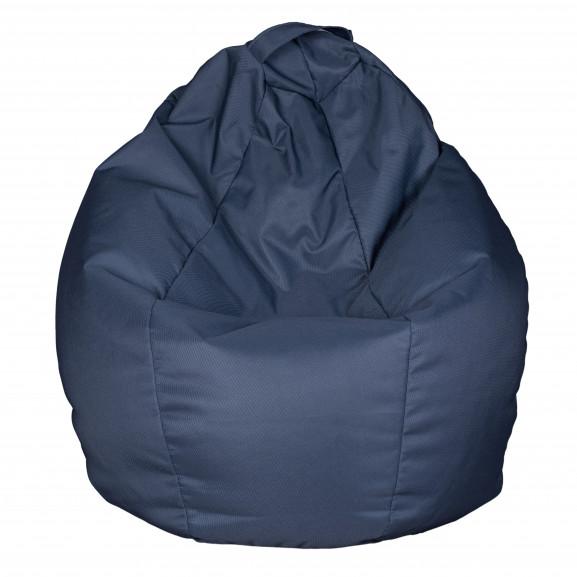 Fotoliu Bean Bag, Interior-Exterior, Tip Para Mijlocie Albastru naturlich.ro