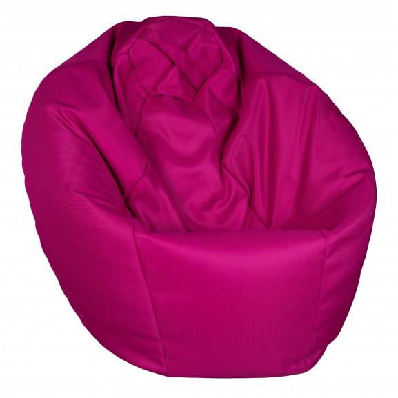 Fotoliu Bean Bag, Interior-Exterior, Tip Para Mare Roz naturlich.ro