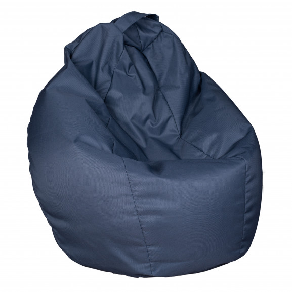 Fotoliu Bean Bag, Interior-Exterior, Tip Para Mare Albastru naturlich.ro