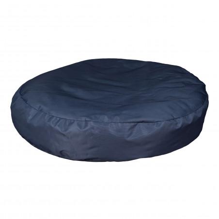 Fotoliu Bean Bag, Interior-Exterior, Tip Puf Rotund Mic Albastru-01