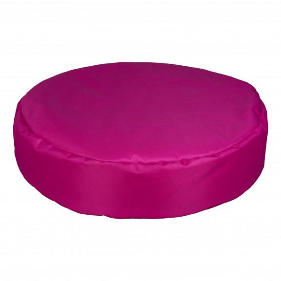 Fotoliu Bean Bag, Interior-Exterior, Tip Puf Rotund Mare Roz naturlich.ro