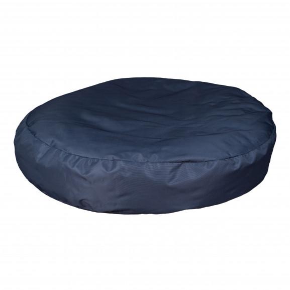 Fotoliu Bean Bag, Interior-Exterior, Tip Puf Rotund Mare Albastru naturlich.ro