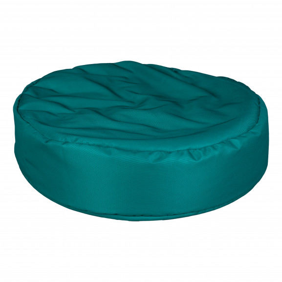 Fotoliu Bean Bag, Interior-Exterior, Tip Puf Rotund Mare Petrol naturlich.ro
