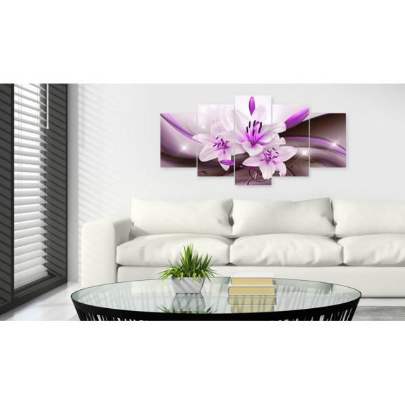 Tablou Violet Desert Lily 100 cm x 50 cm naturlich.ro