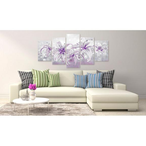 Tablou Purple Graces 100 cm x 50 cm naturlich.ro