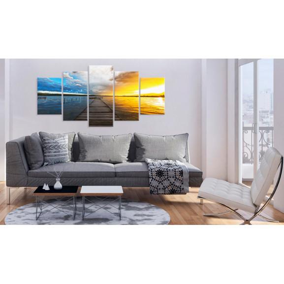 Tablou Lake Of Dreams 100 cm x 50 cm naturlich.ro