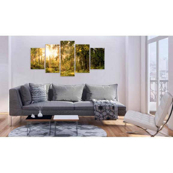 Tablou Magic Of Forest 100 cm x 50 cm naturlich.ro