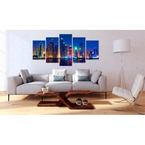 Tablou Nights In Dubai 100 cm x 50 cm naturlich.ro