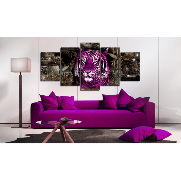 Tablou Purple King 100 cm x 50 cm naturlich.ro