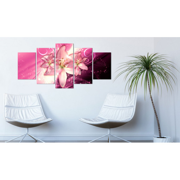 Tablou Pink Heaven 100 cm x 50 cm naturlich.ro