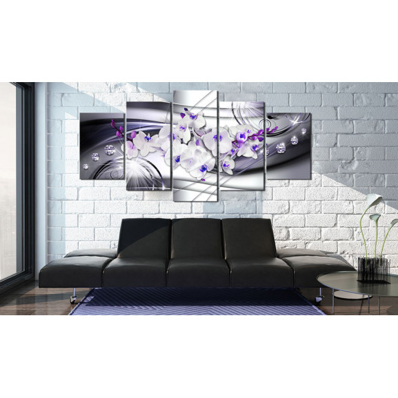 Tablou Coolness Of Orchid 100 cm x 50 cm naturlich.ro